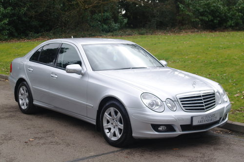 2008 Mercedes E220 CDi Executive.. Tip Auto.. Low Miles.. FSH.. SOLD (picture 1 of 6)