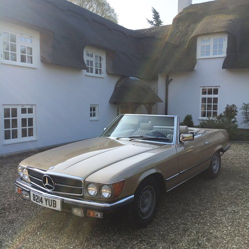 1985 LHD Mercedes Benz 280SL Auto For Sale (picture 1 of 5)