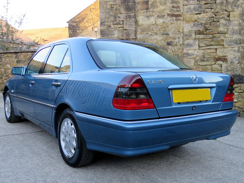 1998 Mercedes W202 C240 V6 Eleg. Auto(5) - 43K - FMBSH - 1 Owner SOLD (picture 2 of 6)