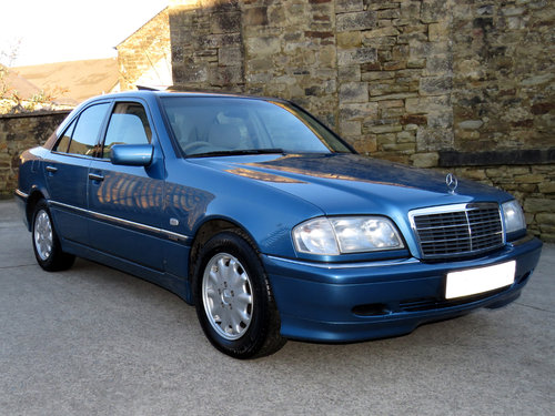 1998 Mercedes W202 C240 V6 Eleg. Auto(5) - 43K - FMBSH - 1 Owner SOLD (picture 3 of 6)