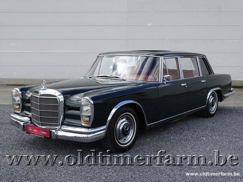 1966 Mercedes-Benz 600 W100 '66 For Sale (picture 1 of 6)