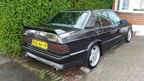 1986 MERCEDES 190E 2.3 16 COSWORTH For Sale (picture 2 of 6)