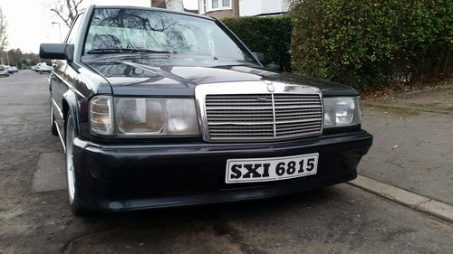 1986 MERCEDES 190E 2.3 16 COSWORTH For Sale (picture 3 of 6)