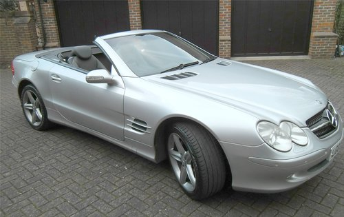 2003 Mercedes-Benz SL500 5.0 auto Roadster SOLD (picture 2 of 6)