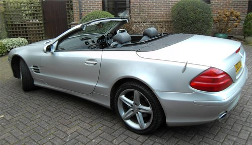 2003 Mercedes-Benz SL500 5.0 auto Roadster SOLD (picture 3 of 6)