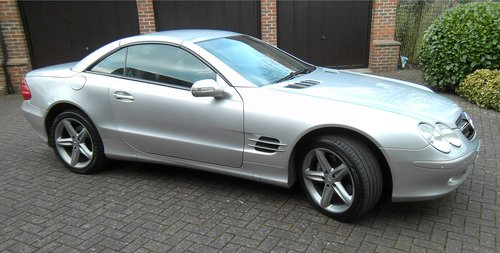 2003 Mercedes-Benz SL500 5.0 auto Roadster SOLD (picture 5 of 6)