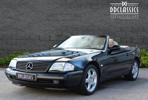 2000 Mercedes SL320 (R129) Roadster (RHD) SOLD (picture 1 of 6)