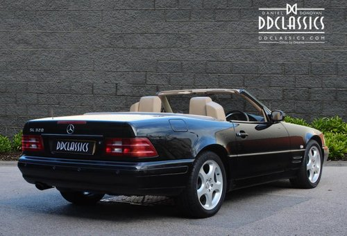 2000 Mercedes SL320 (R129) Roadster (RHD) SOLD (picture 2 of 6)