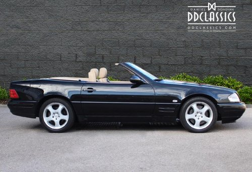 2000 Mercedes SL320 (R129) Roadster (RHD) SOLD (picture 3 of 6)
