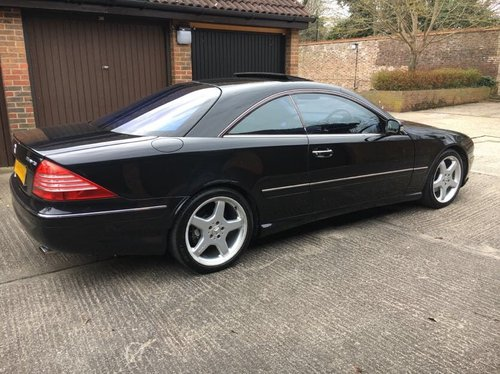 2002 Mercedes CL500 AMG 79k with FSH For Sale (picture 2 of 6)