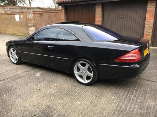 2002 Mercedes CL500 AMG 79k with FSH For Sale (picture 3 of 6)