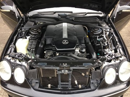 2002 Mercedes CL500 AMG 79k with FSH For Sale (picture 4 of 6)