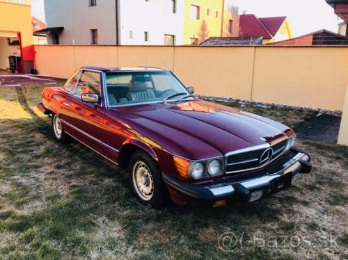 MERCEDES BENZ SL 450, 1979 For Sale (picture 1 of 6)