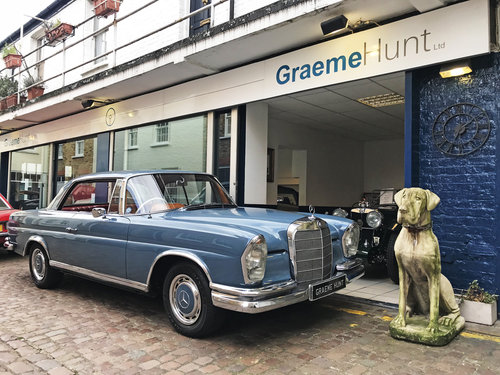 1965 Mercedes Benz 220SEB Coupe - Remarkable Condition SOLD (picture 1 of 6)