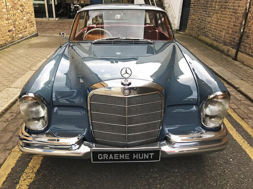 1965 Mercedes Benz 220SEB Coupe - Remarkable Condition SOLD (picture 5 of 6)