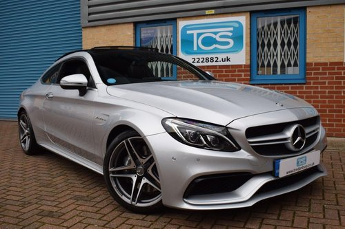 2016 Mercedes C63 AMG Premium Coupe 470BHP 7-Speed Auto SOLD (picture 1 of 6)