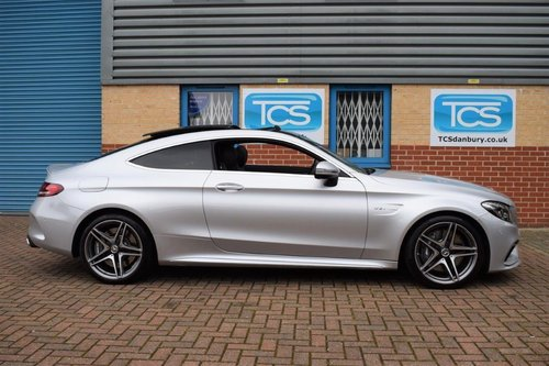 2016 Mercedes C63 AMG Premium Coupe 470BHP 7-Speed Auto SOLD (picture 3 of 6)