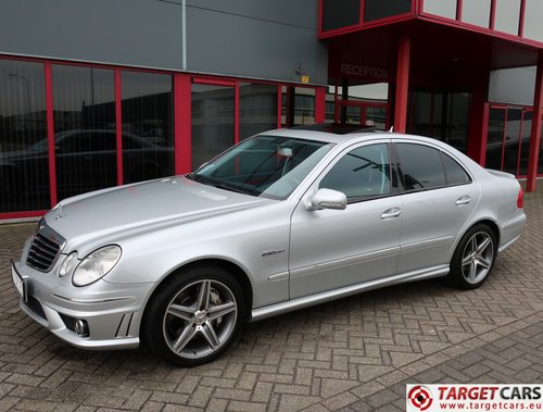 2007 Mercedes E63 AMG V8 6.2L 514HP LHD For Sale (picture 1 of 6)