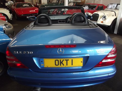 2003 MERCEDES SLK 230 AUTO KOMPRESSOR H/TOP CONVER '04 MY SOLD (picture 5 of 5)