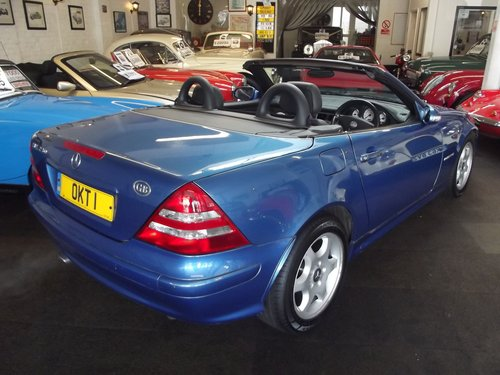 2003 MERCEDES SLK 230 AUTO KOMPRESSOR H/TOP CONVER SOLD (picture 2 of 5)