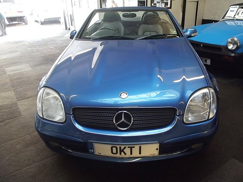 2003 MERCEDES SLK 230 AUTO KOMPRESSOR H/TOP CONVER SOLD (picture 4 of 5)