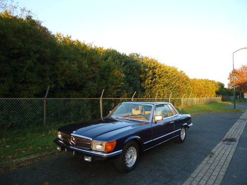 Mercedes 450SLC 5.0 1979 investment car For Sale (picture 1 of 6)
