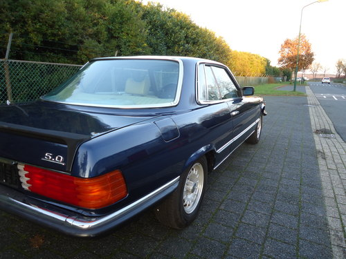 Mercedes 450SLC 5.0 1979 investment car For Sale (picture 6 of 6)