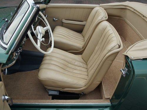 1956 Mercedes 190SL first series