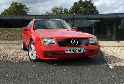 1991 Mercedes-Benz 500SL  For Sale (picture 1 of 6)