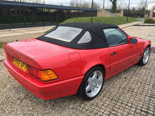 1991 Mercedes-Benz 500SL  For Sale (picture 4 of 6)