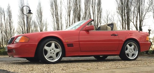 1991 Mercedes-Benz 500SL  For Sale (picture 5 of 6)