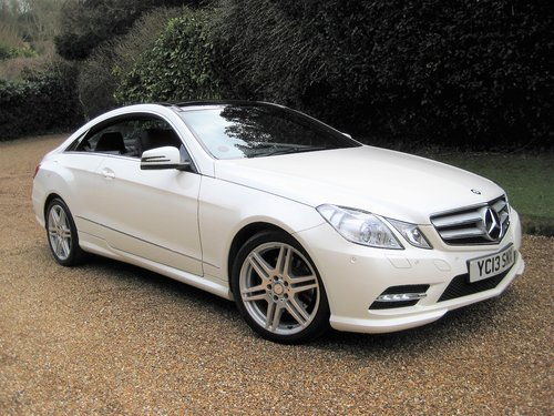 2013 Mercedes Benz E350 CDI BlueEfficiency AMG Sport Coupe For Sale (picture 1 of 6)