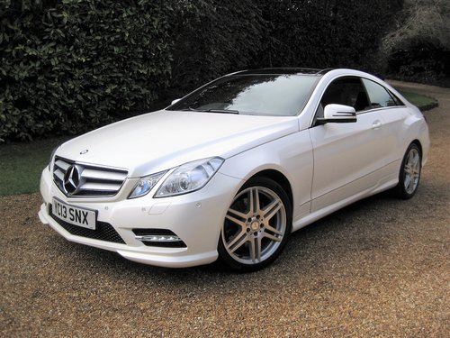 2013 Mercedes Benz E350 CDI BlueEfficiency AMG Sport Coupe For Sale (picture 2 of 6)