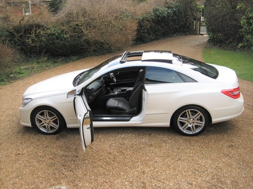 2013 Mercedes Benz E350 CDI BlueEfficiency AMG Sport Coupe For Sale (picture 5 of 6)