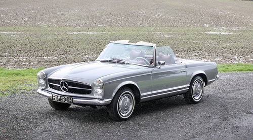 1970 Mercedes-Benz 280SL Pagoda **NOW SOLD** For Sale (picture 1 of 6)