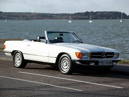 1981 MERCEDES 280SL AUTO HARD + SOFT TOP CONVERTIBLE SOLD (picture 1 of 6)
