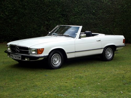 1981 MERCEDES 280SL AUTO HARD + SOFT TOP CONVERTIBLE SOLD (picture 2 of 6)