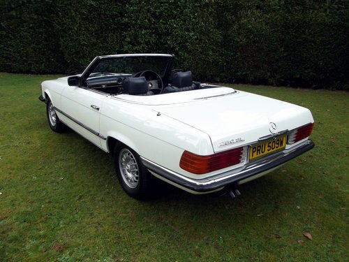 1981 MERCEDES 280SL AUTO HARD + SOFT TOP CONVERTIBLE SOLD (picture 3 of 6)