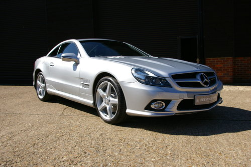 2011 Mercedes-Benz SL350 7G-Tronic Auto (22,098 miles)   SOLD (picture 2 of 6)