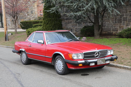 1988 Mercedes-Benz 560SL # 22346  For Sale (picture 1 of 5)