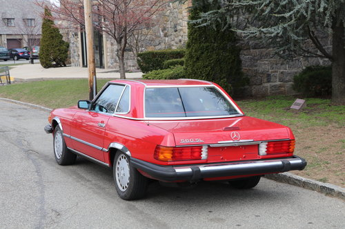1988 Mercedes-Benz 560SL # 22346  For Sale (picture 2 of 5)