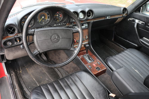 1988 Mercedes-Benz 560SL # 22346  For Sale (picture 4 of 5)
