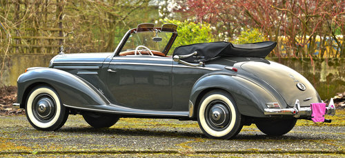 1953 Mercedes Benz 220 Cabriolet For Sale (picture 2 of 6)