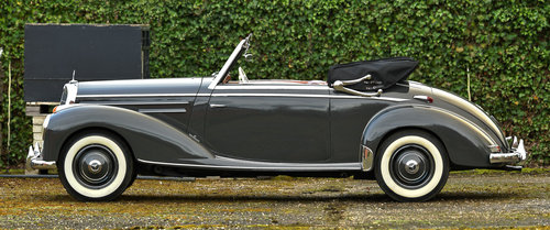 1953 Mercedes Benz 220 Cabriolet For Sale (picture 3 of 6)