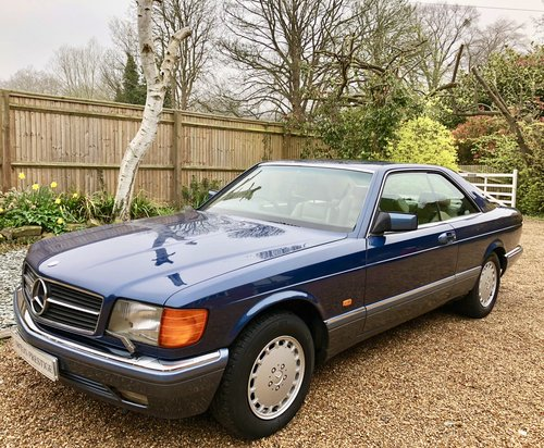 1990 **SOLD, MORE WANTED** Mercedes 500SEC W126 coupe. FSH.  Wanted (picture 1 of 6)