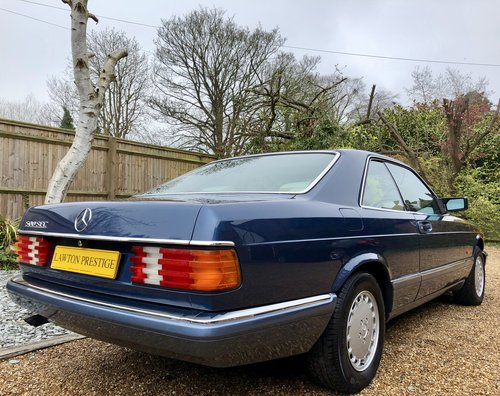 1990 **SOLD, MORE WANTED** Mercedes 500SEC W126 coupe. FSH.  Wanted (picture 2 of 6)