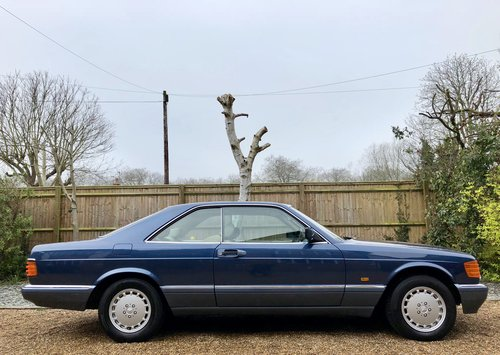 1990 **SOLD, MORE WANTED** Mercedes 500SEC W126 coupe. FSH.  Wanted (picture 3 of 6)