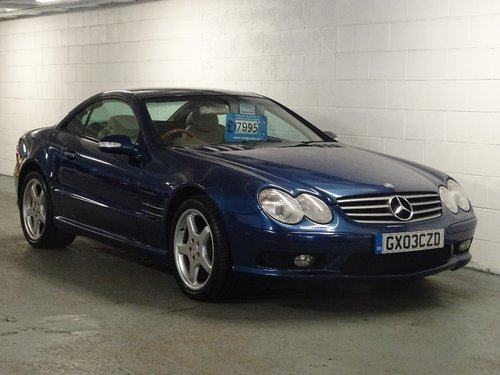 2003 Mercedes-Benz SL Class 5.0 SL500 2dr AMG PACK + HUGE SPEC For Sale (picture 1 of 6)