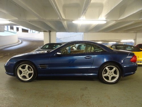 2003 Mercedes-Benz SL Class 5.0 SL500 2dr AMG PACK + HUGE SPEC For Sale (picture 2 of 6)