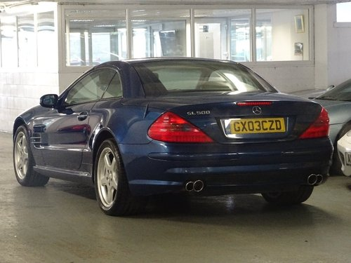 2003 Mercedes-Benz SL Class 5.0 SL500 2dr AMG PACK + HUGE SPEC For Sale (picture 3 of 6)